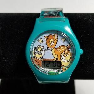 Vintage Disney Bambi Kids Digital Watch